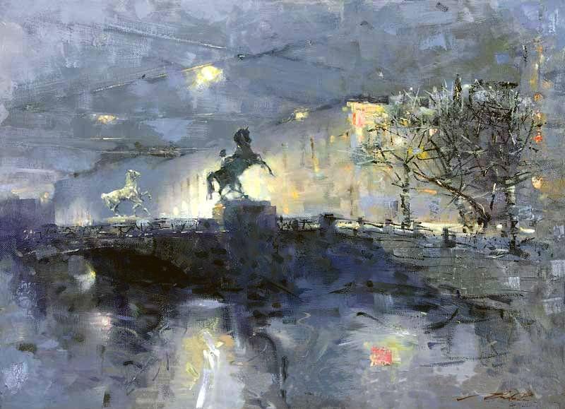 Сергей Сиделев - Аничков мост - 1.jpg