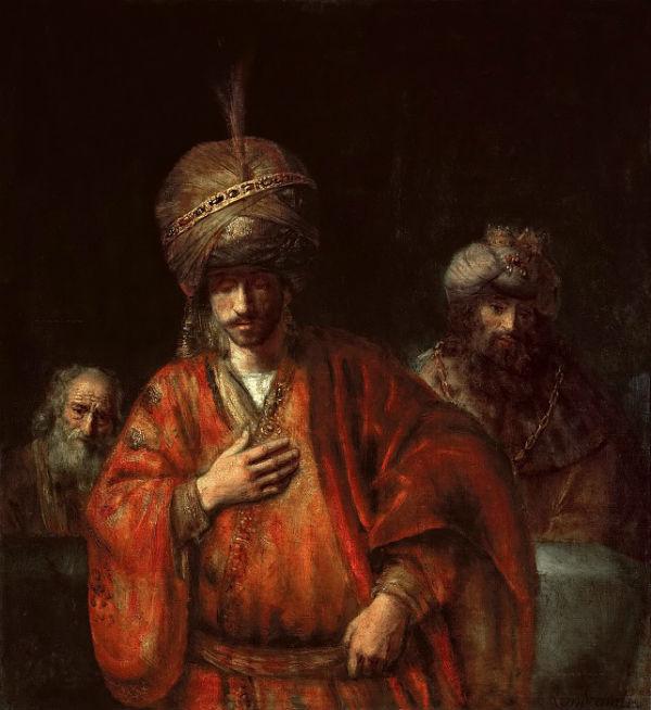 6-Аман узнаёт свою судьбу или Падение Амана - около 1665.jpg