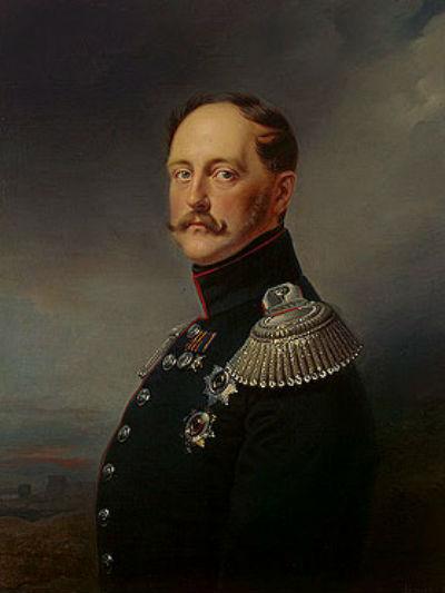 Франц Крюгер - Портрет Николая I.jpg