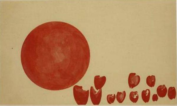 Йозеф Бойс - Сердца революционеров - Порождение планеты будущего - 1955.jpg