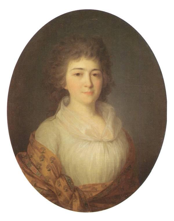 Портрет А М Писаревой рожденной Дурасовой - первая половина 1790-х.jpg