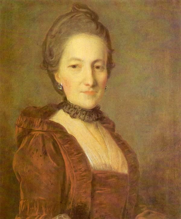 Портрет неизвестной в темно-красном платье - 1760-е.jpg
