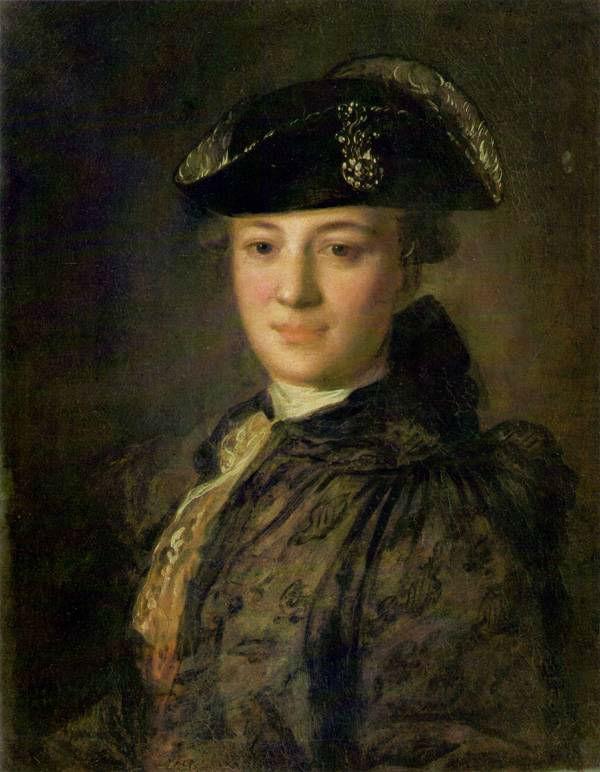 4-Портрет неизвестного в треуголке - начало 1770-х.jpg