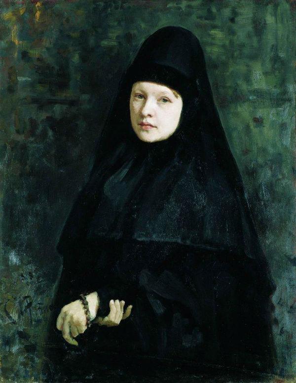 4-Илья Ефимович Репин - Монахиня.jpg