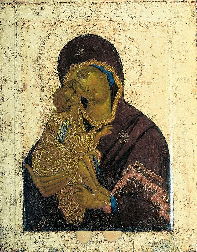 5-Феофан Грек - Икона Донской Божьей Матери.jpg