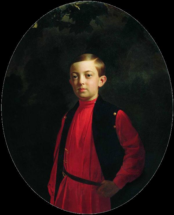 Сергей Константинович Зарянко - Портрет великого князя Николая Александровича - 1851.png