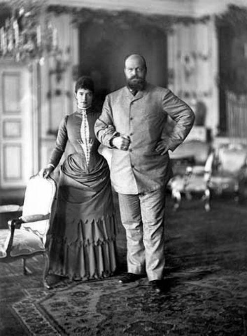 Мария Фёдоровна и Александр III в Дании - 1892.jpg
