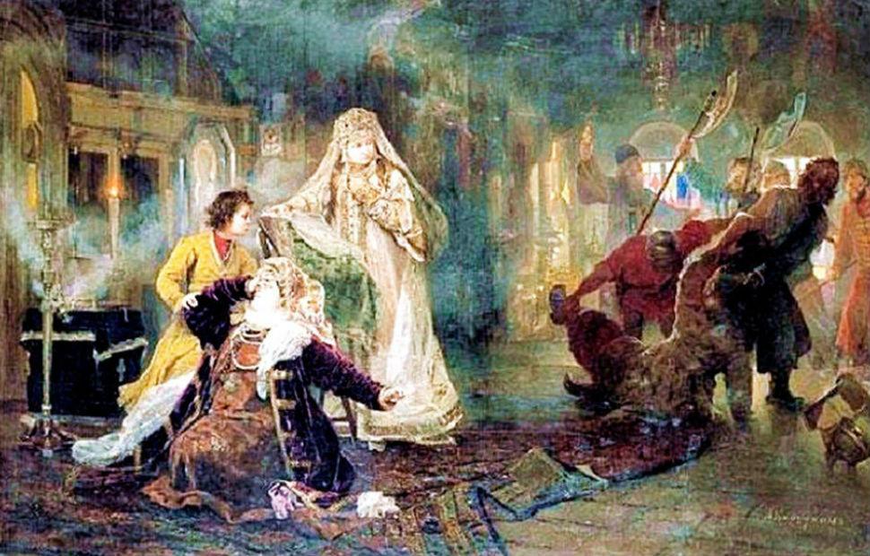 А И Корзухин - Мятеж стрельцов в 1682 году - 1882.jpg