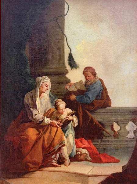 5-Даниель Гран - Обучение Марии - Около 1750.jpg