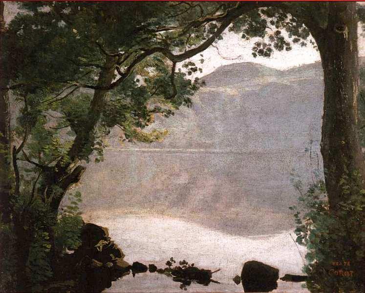 12-Камиль Коро - Озеро Неми - 1843.jpg