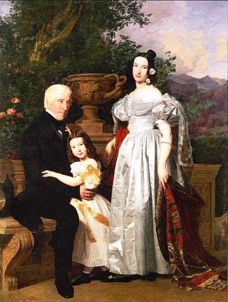25-Фердинанд Георг Вальдмюллер (1793–1865) - Семья Керцманн - 1835.jpg