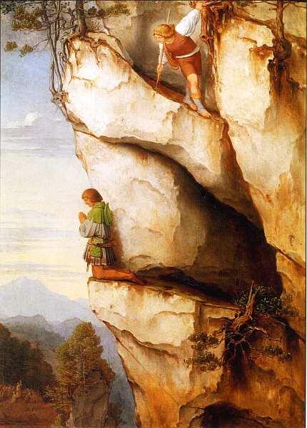 31-Мориц фон Швинд (1804–1871) - Кайзер Максимилиан I в горах Мартинсванд - 1860.jpg
