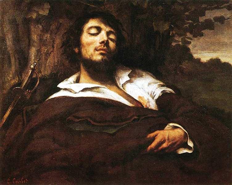 33-Густав Курбе (1819–1877) - Раненый - 1866.jpg