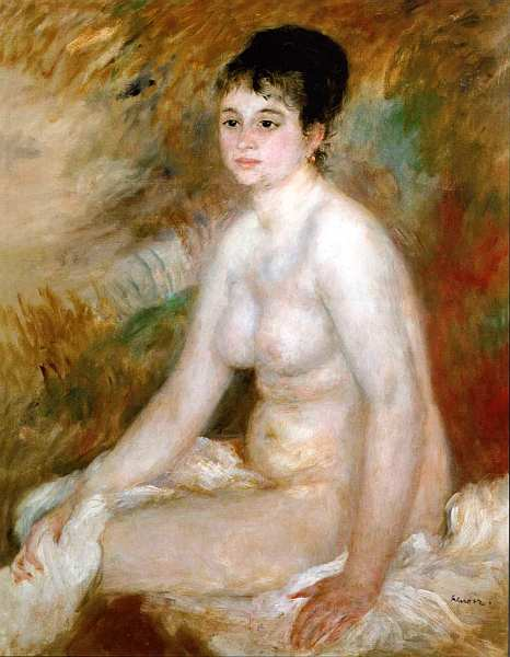 35-Пьер Огюст Ренуар (1841–1919) - После ванной - 1876.jpg