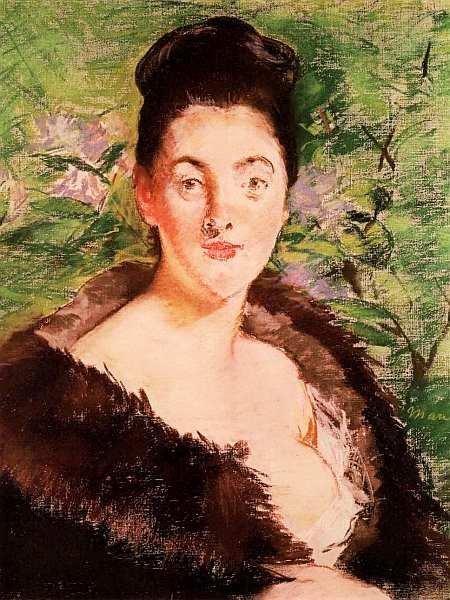 36-Эдуард Мане (1832–1883) - Дама в мехах - 1880.jpg