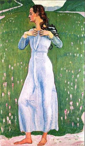 46-Фердинанд Ходлер (1853–1918) - Волнение - 1900.jpg