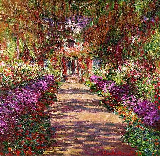 49-Клод Моне (1840–1926) - Дорога в саду Моне в Живерни - 1902.jpg