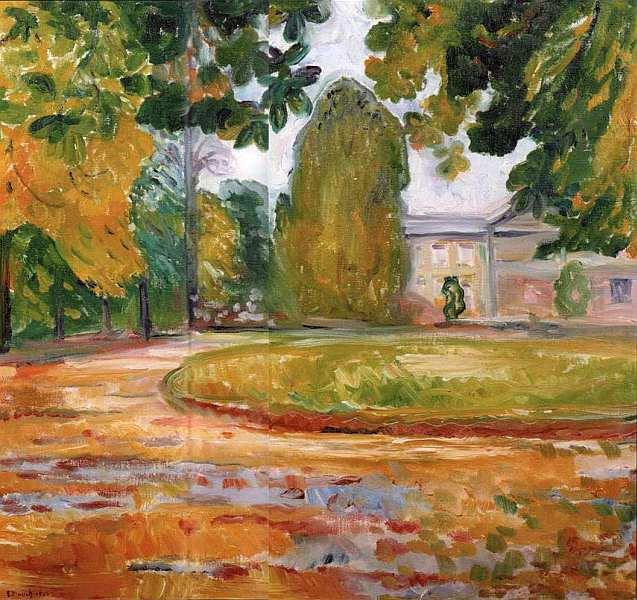 54-Эдвард Мунк (1863–1944) - Парк в Кёзене - 1906.jpg