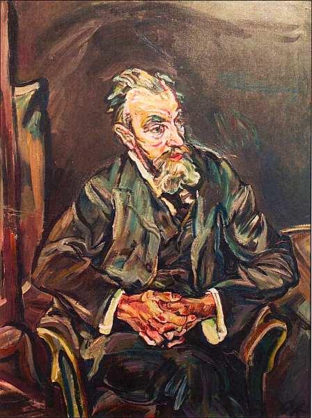 58-Оскар Кокошка (1886–1980) - Портрет художника Карла Молля - 1913.jpg