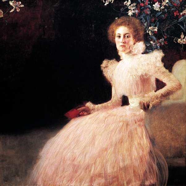61-Густав Климт (1862–1918) - Портрет Сони Книпс - 1898.jpg