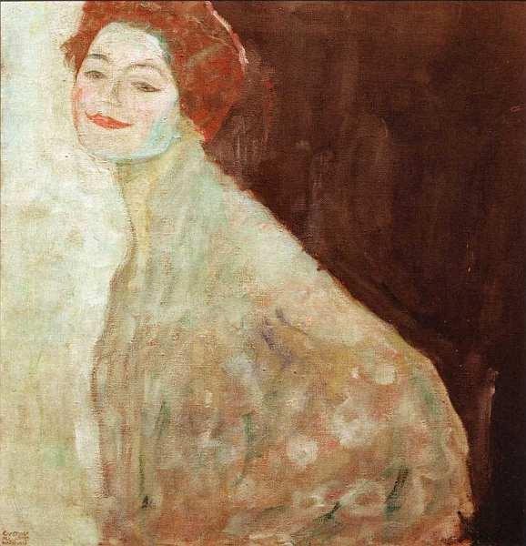 66-Густав Климт (1862–1918) - Портрет женщины в белом - Около 1917–1918.jpg