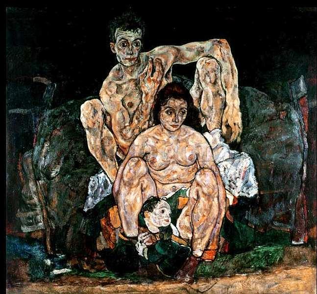 72-Эгон Шиле (1890–1918) - Семья - 1918.jpg