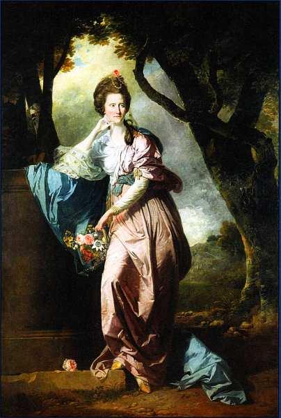 5-Иоганн Дзоффани Миссис Вудхалл Около 1770.jpg