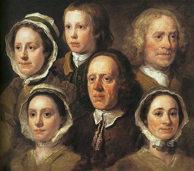 8-Уильям Хогарт (1697–1764) Шесть голов слуг Хогарта 1750–1755.jpg