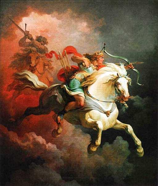 15-Филипп Джеймс де Лотербург (1740–1812) Видение белой лошади 1798.jpg