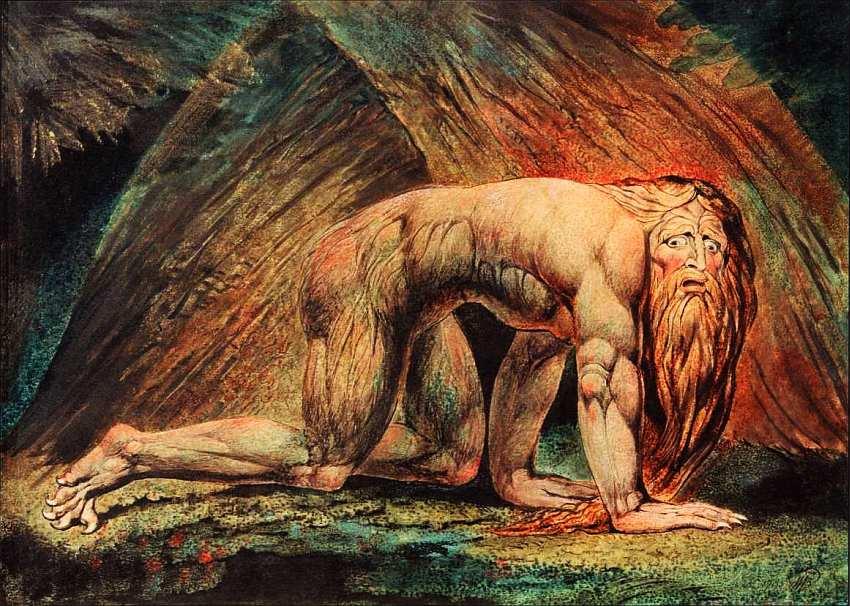 16-Уильям Блейк (1757–1827) Навуходоносор 1795–1805.jpg