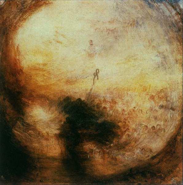 25-Джозеф Мэллорд Уильям Тернер (1775–1851) Утро после Всемирного потопа. Свет и цвет 1843.jpg