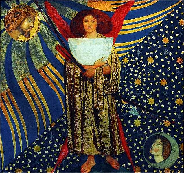 30-Данте Габриэль Россетти (1828–1882) Любовь Данте 1860.jpg