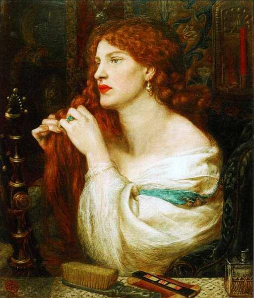 31-Данте Габриэль Россетти (1828–1882) Аурелия (Хозяйка Фазио) 1863–1873.jpg