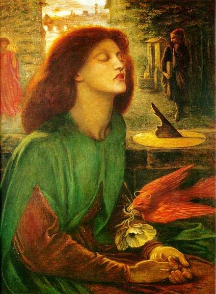 32-Данте Габриэль Россетти (1828–1882) Beata Beatrix. Около 1864–1870.jpg