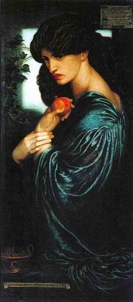 33-Данте Габриэль Россетти (1828–1882) Прозерпина 1874.jpg