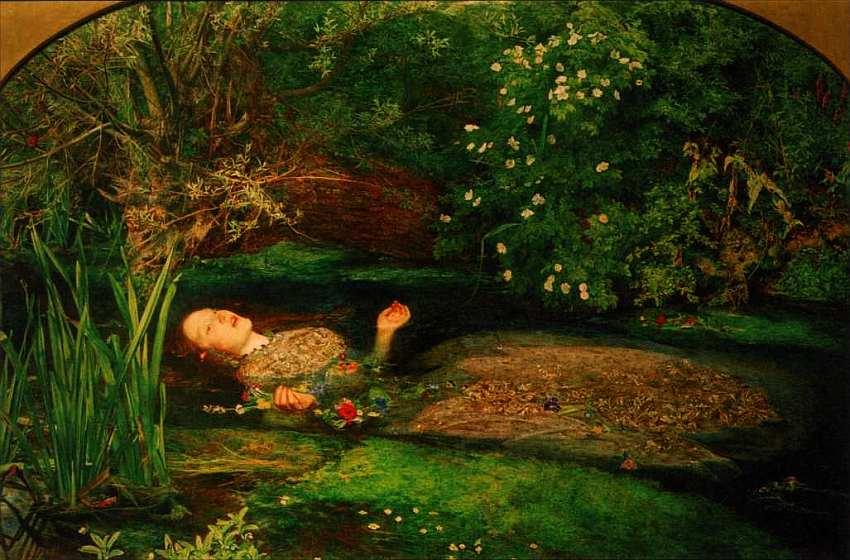 34-Джон Эверетт Милле (1829–1896) Офелия 1851–1852.jpg