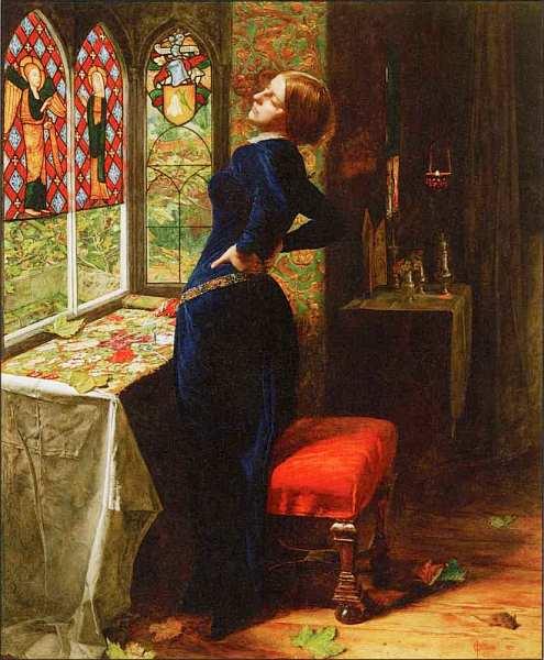 36-Джон Эверетт Милле (1829–1896) Марианна 1851.jpg
