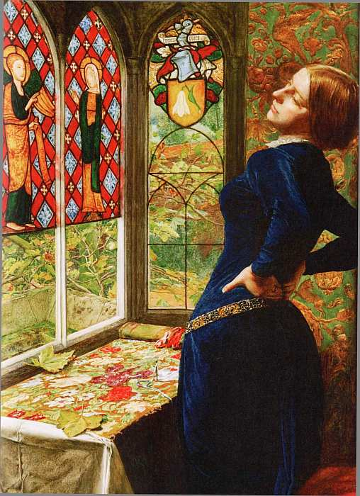 37-Джон Эверетт Милле (1829–1896) Марианна 1851 (фрагмент).jpg