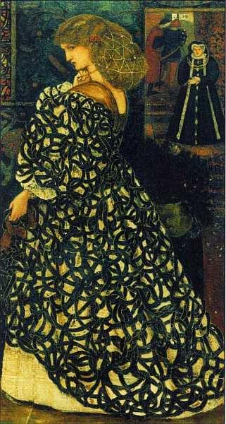 39-Эдвард Коли Бёрн-Джонс (1833–1898) Сидония фон Борк 1860.jpg