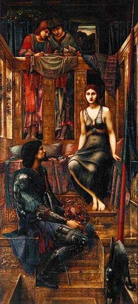 41-Эдвард Коли Бёрн-Джонс (1833–1898) Царь Кофетуя и нищенка 1884.jpg