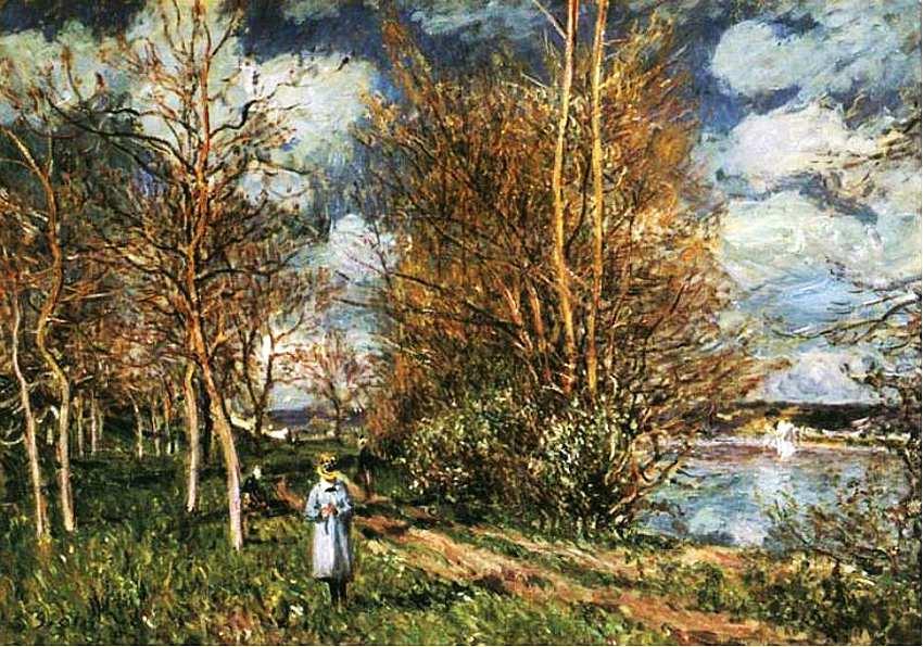 46-Альфред Сислей (1839–1899) Лужки весной 1880.jpg