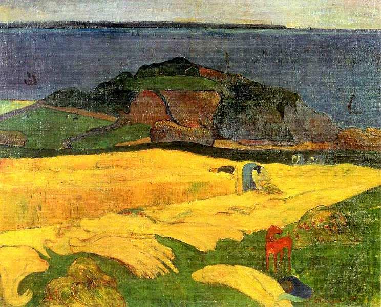 57-Поль Гоген (1848–1903) Жатва. Ле Полду 1890.jpg