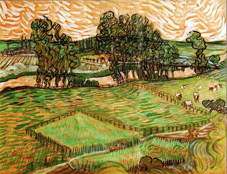 58-Винсент Ван Гог (1853–1890) Река Уаза в Овер-сюр-Уаз 1890.jpg