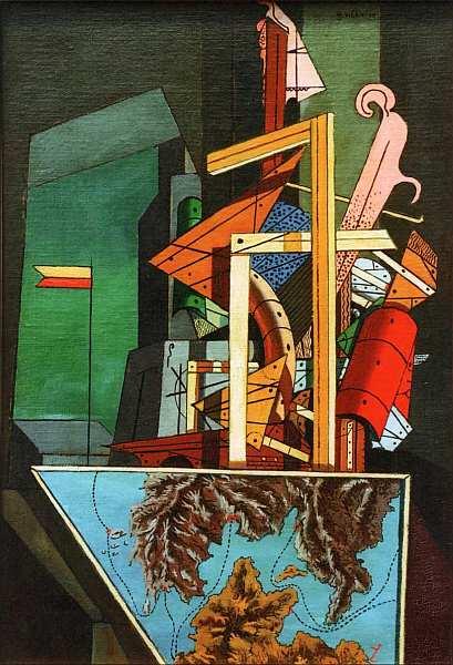 66-Джорджо де Кирико (1888–1978) Меланхолия отъезда 1916.jpg