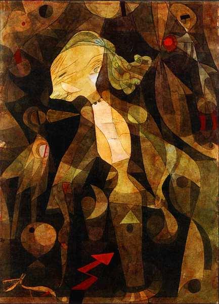 67-Пауль Клее (1879–1940) Приключение молодых дев 1922.jpg