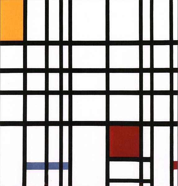 68-Пит Мондриан (1872–1944) Композиция желтый, синий, красный 1937–1942.jpg