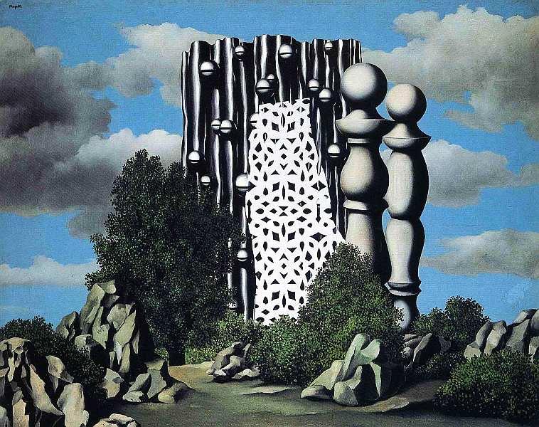 70-Рене Магритт (1898–1967) Благовещение 1930.jpg