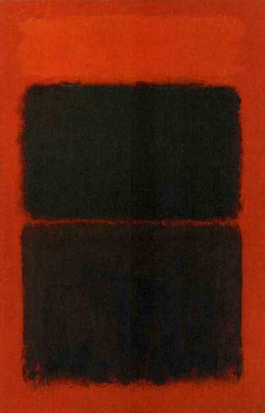 73-Марк Ротко (1903–1970) Светло-красный на черном 1957.jpg