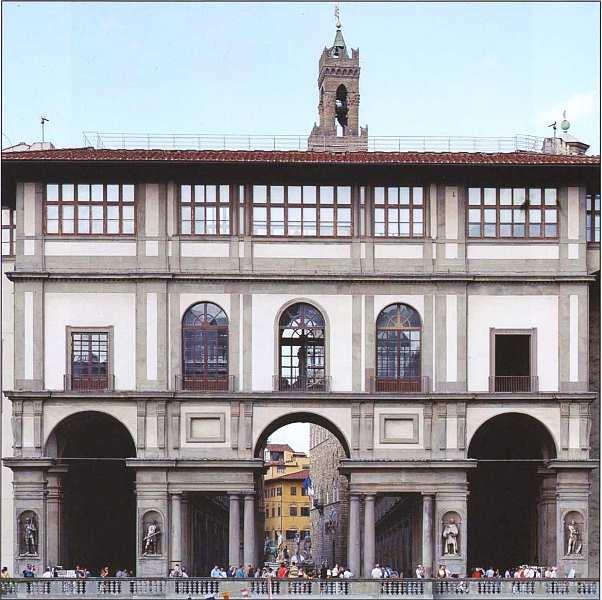1-Палаццо дельи Уффици. Южный фасад.jpg