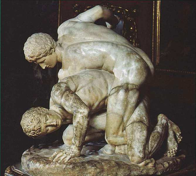 5-Борцы (Панкратионисты). II век до н. э..jpg